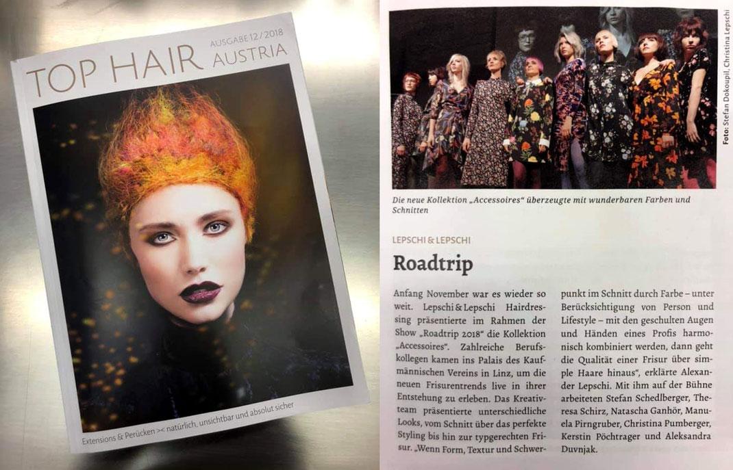 Top Hair Austria mit Lepschi&Lepschi Hairdressing - Roadtrip 2018 - Accessoires Collection