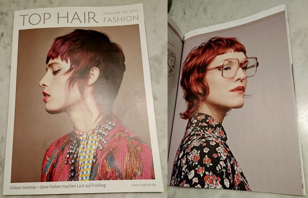 Bericht von Top Hair Austria Ausgabe 12 (Dezember 2018)