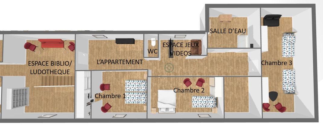 1er étage droite l'appartement