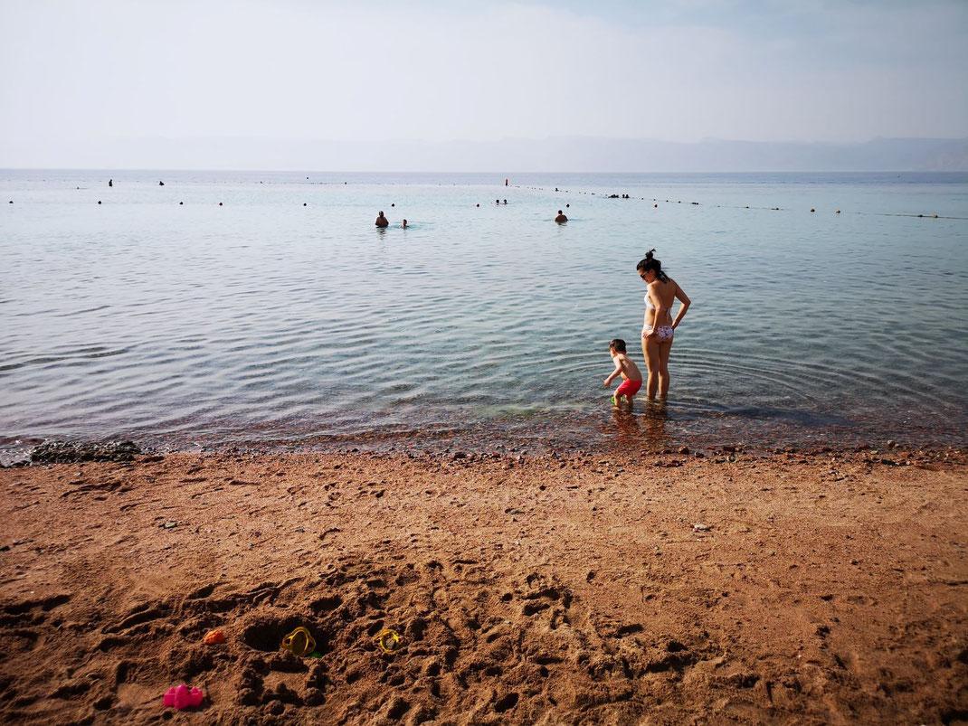 Reiseziele im Winter mit Baby: Jordanien