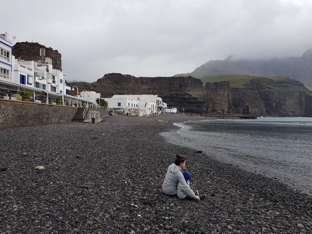 Puerto las Nieves Kleinkind Gran Canaria