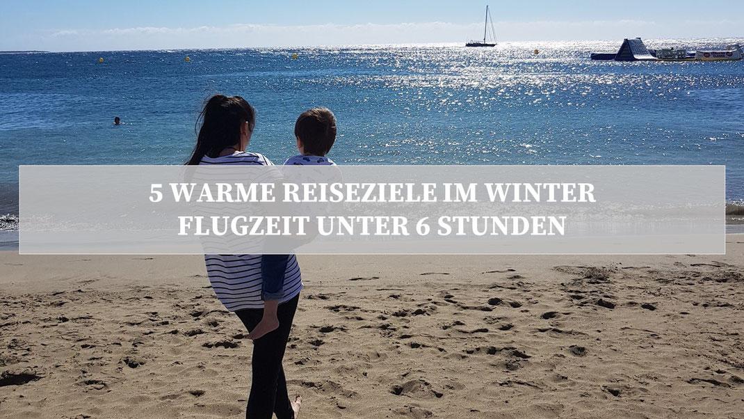 Reiseziele Winter Kleinkind