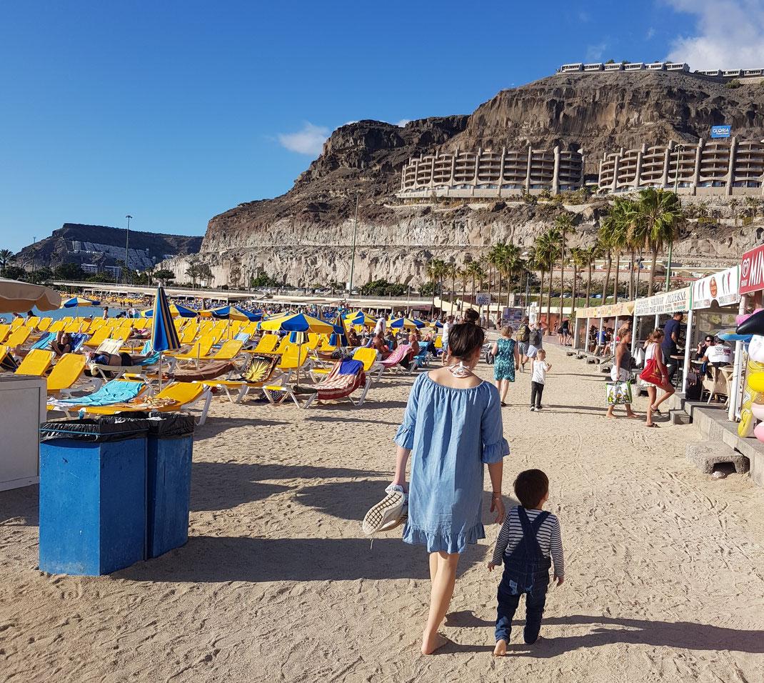 Playa des Amadores Kleinkind Gran Canaria