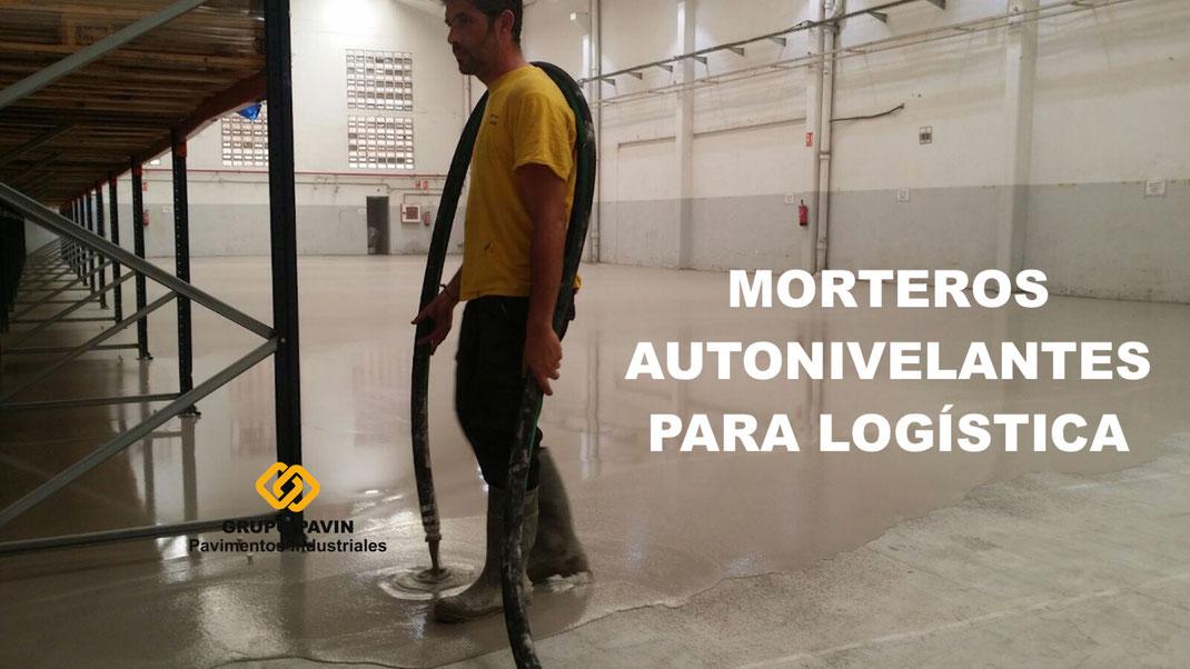 GRUPO PAVIN - Suelos y pavimentos industriales   Pavimentos industriales de mortero cementoso autonivelantes