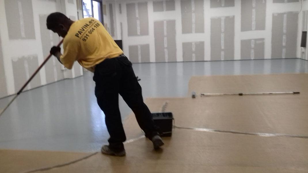 Suelos y pavimentos industriales de resinas continuos en Barcelona con bacterias reparadoras del cemento?