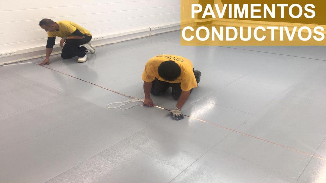 Suelos y pavimentos industriales de resinas conductivos y disipativos en Barcelona