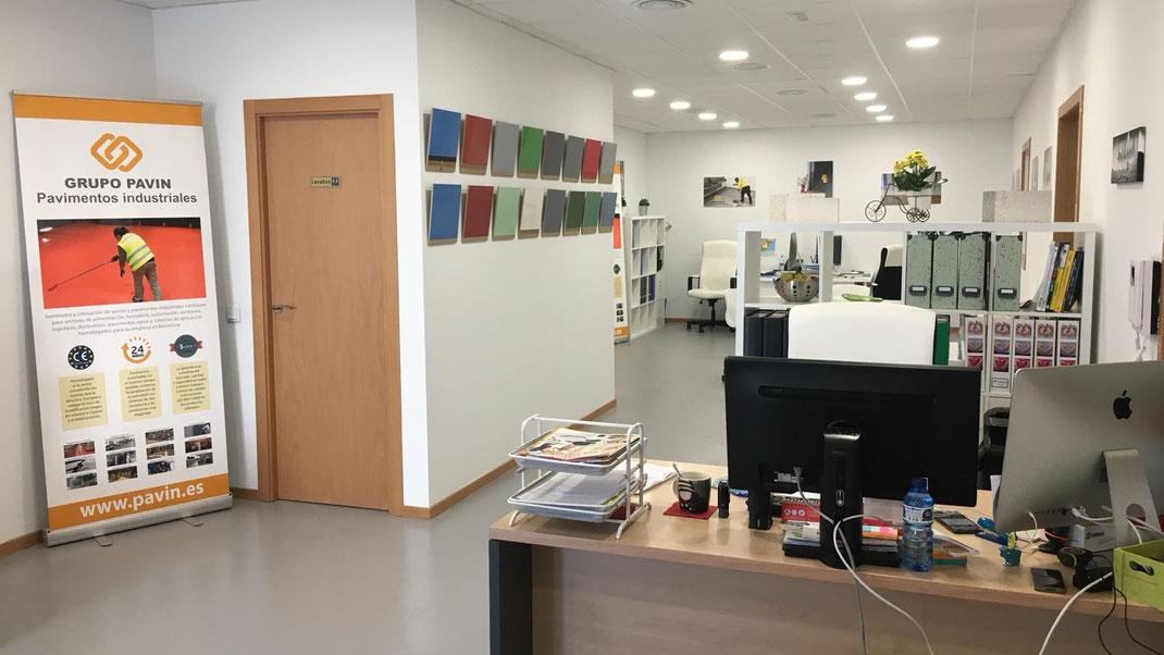 Oficinas centrales de Grupo Pavin