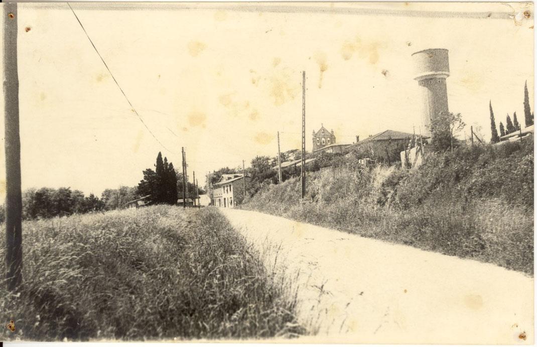Vue du côté du chemin de Beauteville