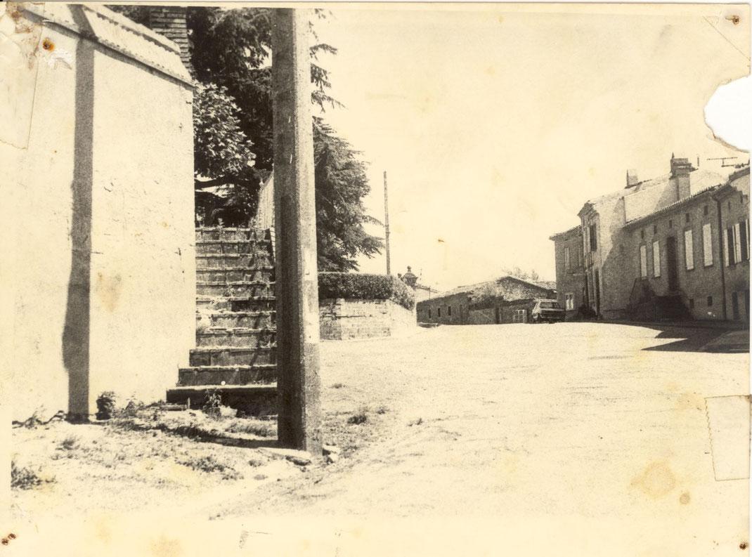 Vue du côté du presbytère