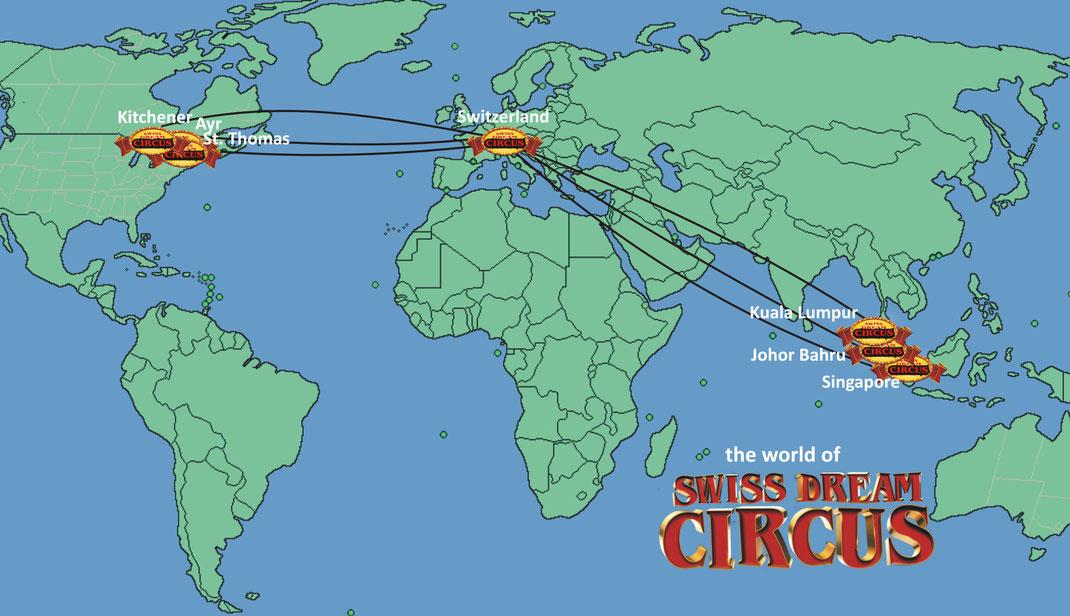 Tour 2018 swiss dream circus kuala lumpur johor bahru singapore ontario canada gumiabroncs Choice Image