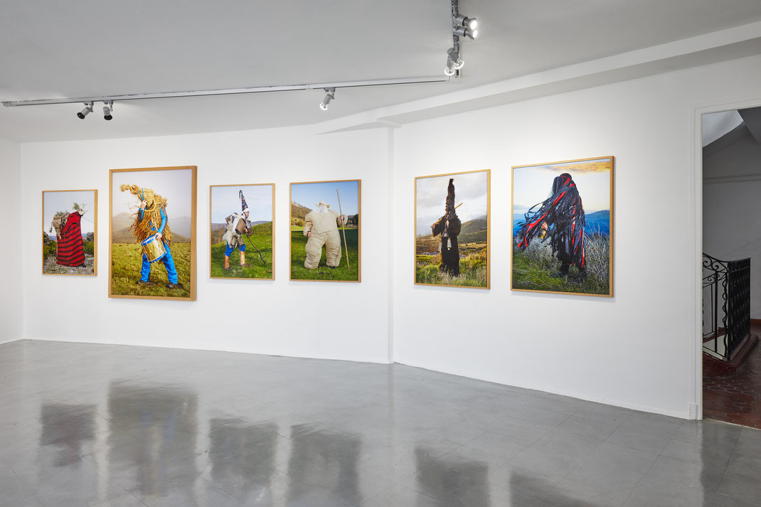 """ Wilder Mann "", Charles Fréger, CAC Istres, 2020, © Jean-Christophe Lett"