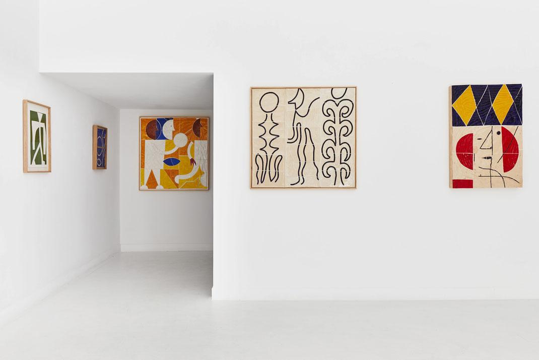 """"""" Certains les imaginaient ainsi """", Maximilien Pellet, Galerie Double V, Marseille, 2020, © jean christophe Lett"""