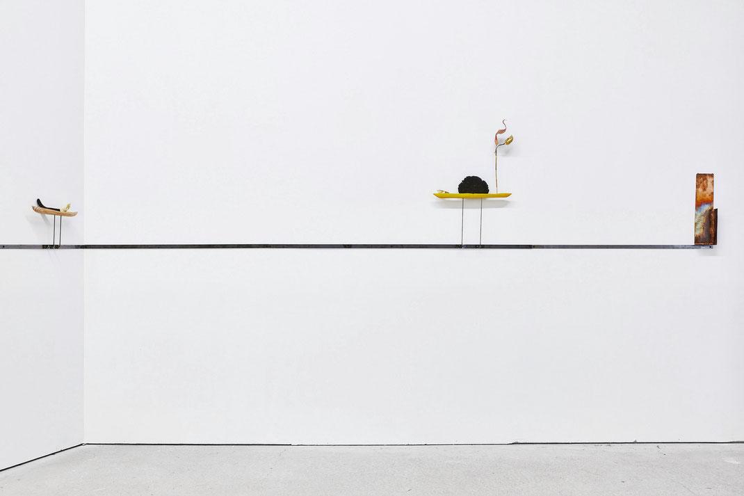"Martin Belou, "" garde fou "", galerie Catherine Bastide, Marseille, 2019, Jean christophe Lett"