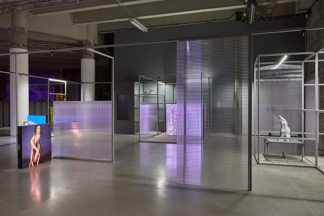 """""""alt+R – Alternative Réalité"""" , Grégory Chatonsky, Palais de Tokyo, Paris, 2019, © Jean christophe Lett"""
