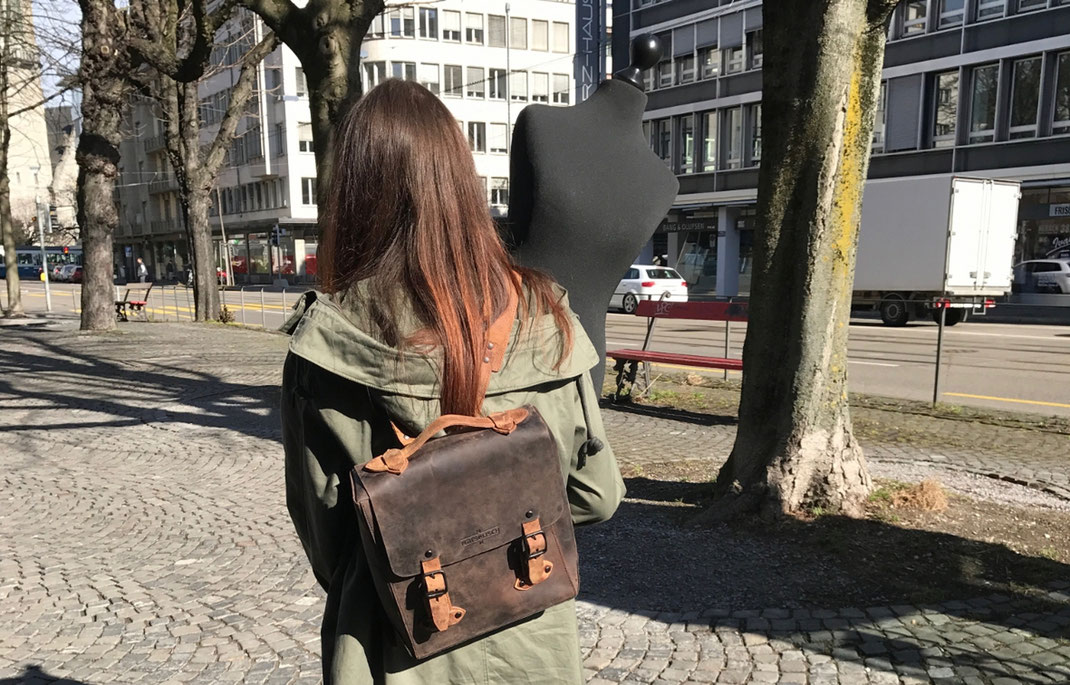 Margelisch backpack leather