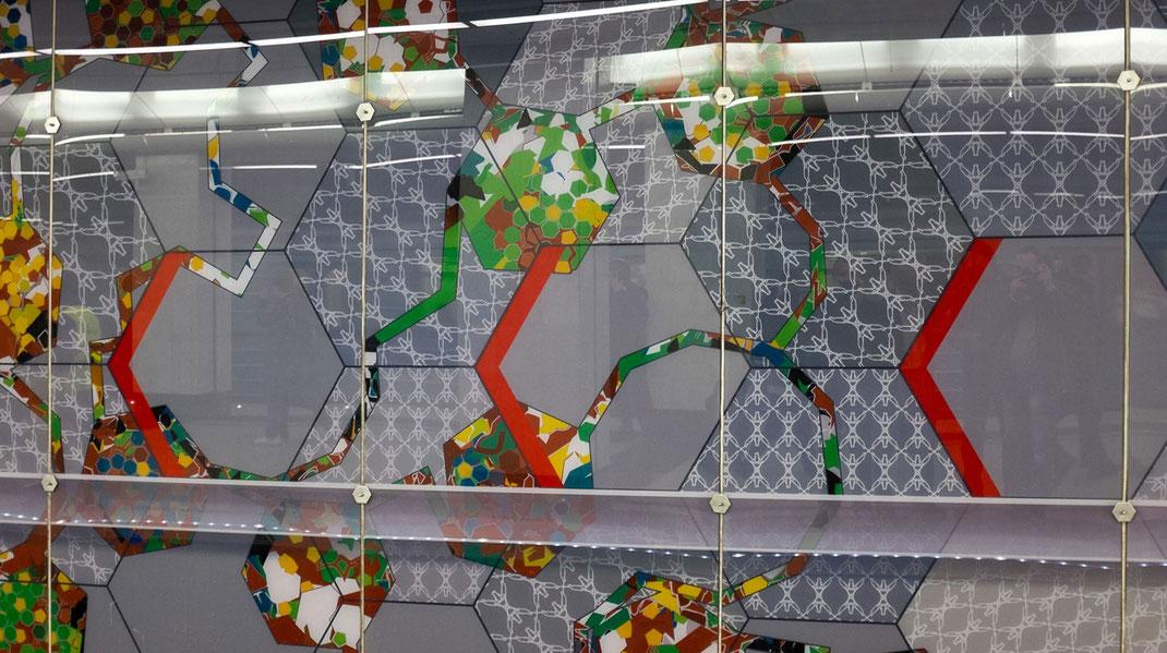 "Moskau, Metro ""Spartak"" Entwurf: Lönne + Neumann, Paderborn"