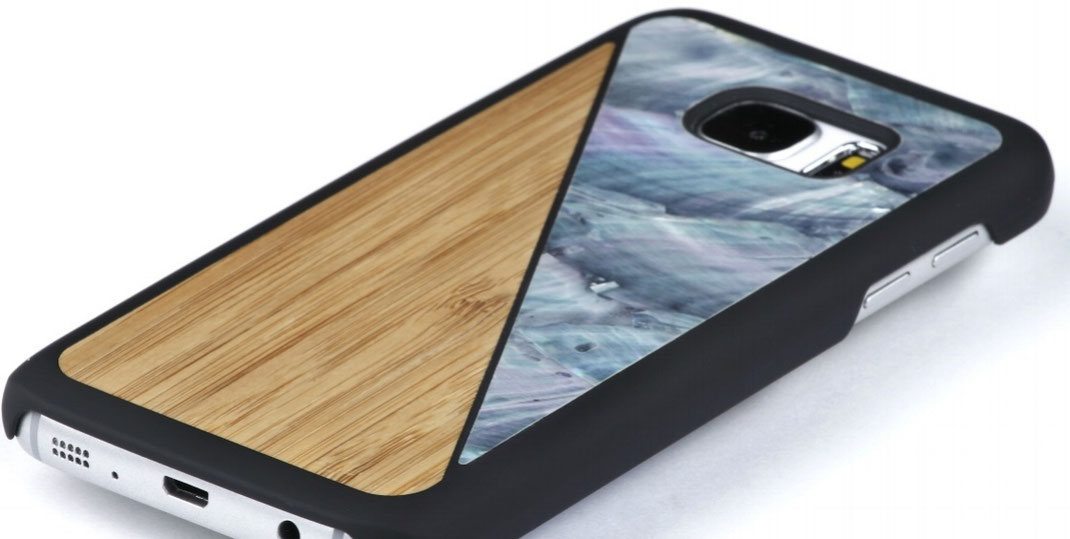 iphone 6 6s and galaxy s7 edge case wood and nacre