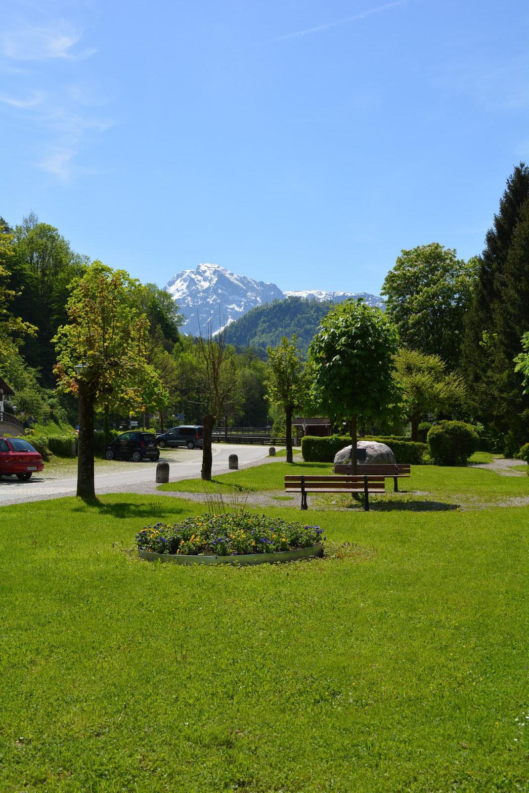 Kurpark in Marktschellenberg