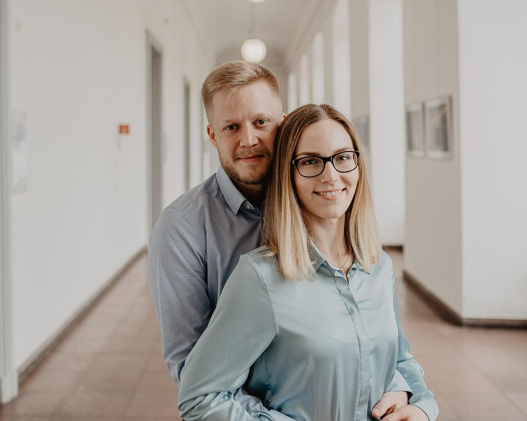 Sascha und Katharina by Sebastian Pintea