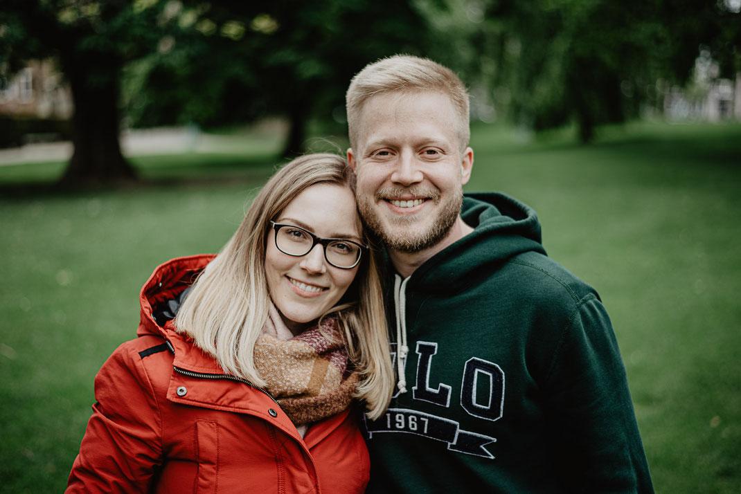 Portrait Sascha und Katharina in Mannheim by Sebastian Pintea