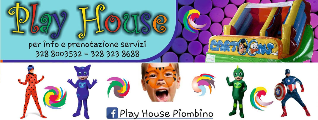 PLAY HOUSE ANIMAZIONE PIOMBINO