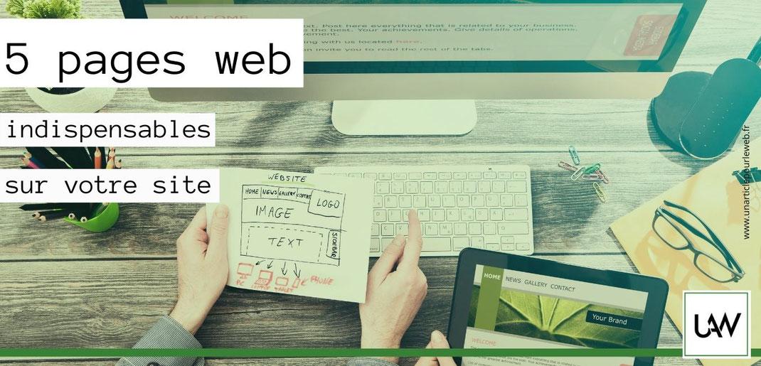 plan UX Design pour créer une page web