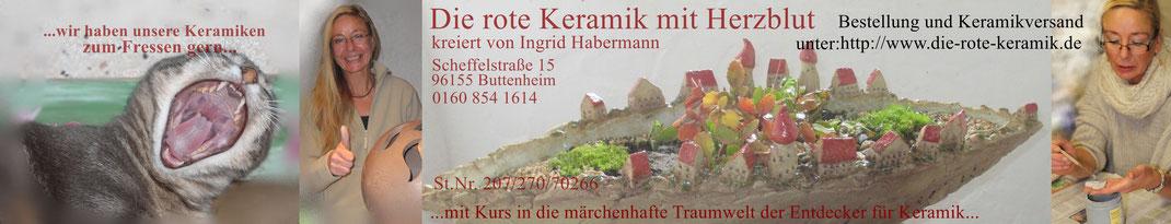 www.die-rote-keramik.de Ingrid Habermann