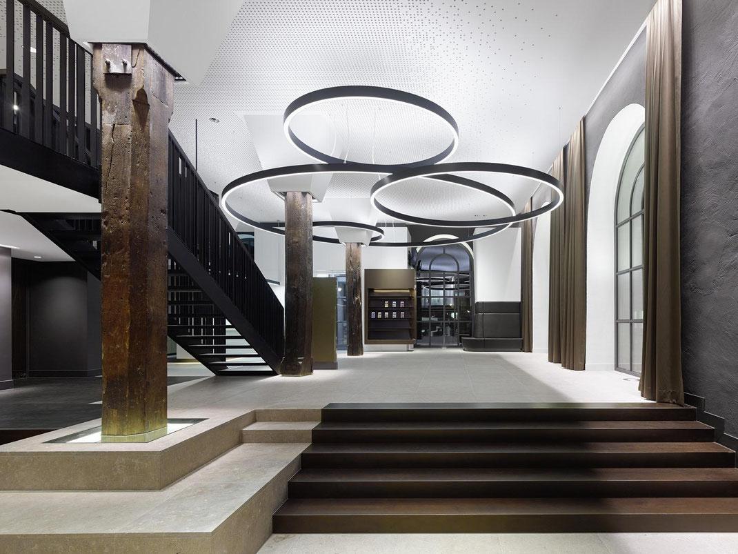 rathaus schorndorf ippolito fleitz apartment91 interior textiles vorhaenge curtains