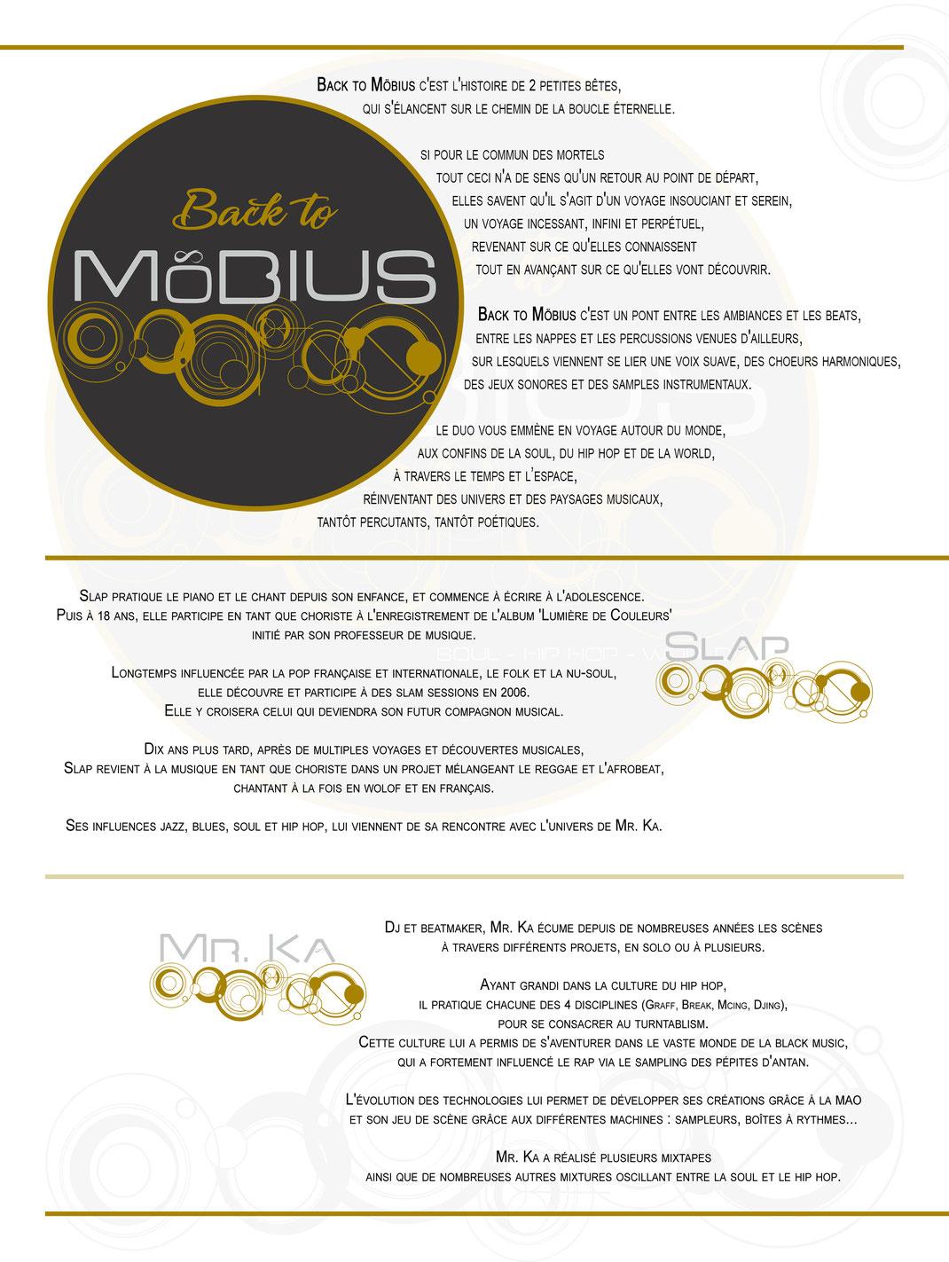 biographie de Back to Möbius