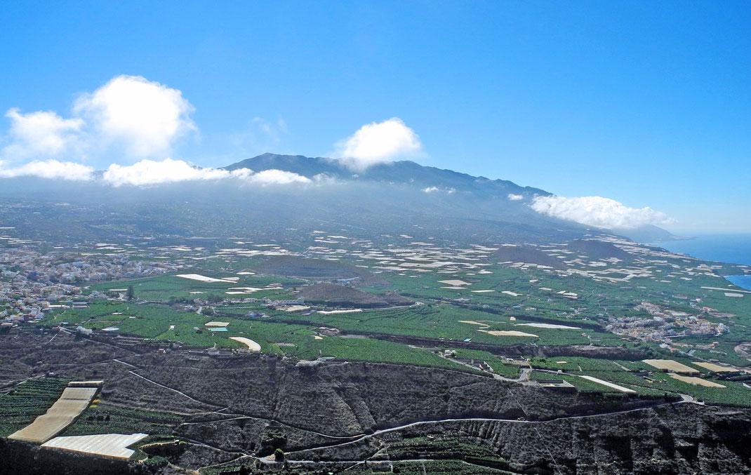 Bild links Stadt Los Llanos - rechts Villa de Tazacorte