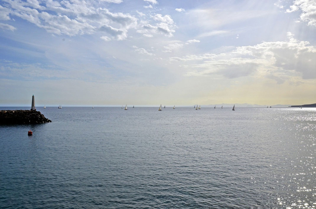 Yachthafen Puerto Calero gegen 16.20 Uhr