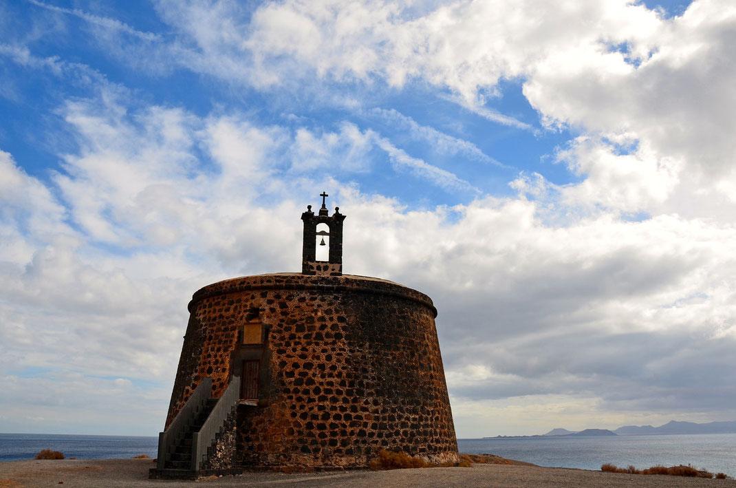 Playa Blanca, Castillo de las Coloradas