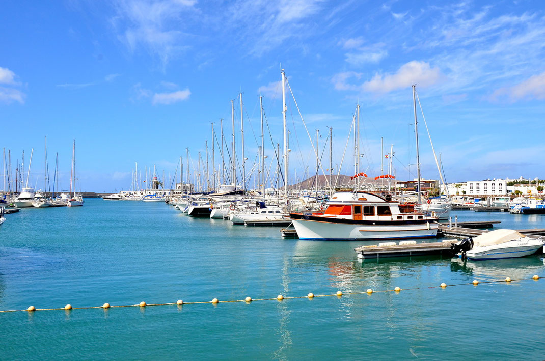 Playa Blanca, Yachthafen Marina Rubicón