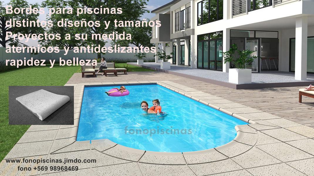 Bordes para piscinas page for Bordes decorativos para piscinas