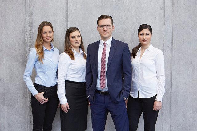 Juristen der Michael Graf Patientenanwälte Freiburg