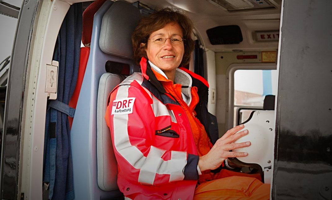 Notärztin Dr.Ulrike Lamp, Deutsche Luftrettung