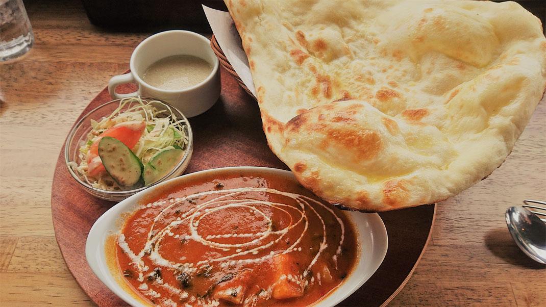 インド料理Kiranさんのランチ