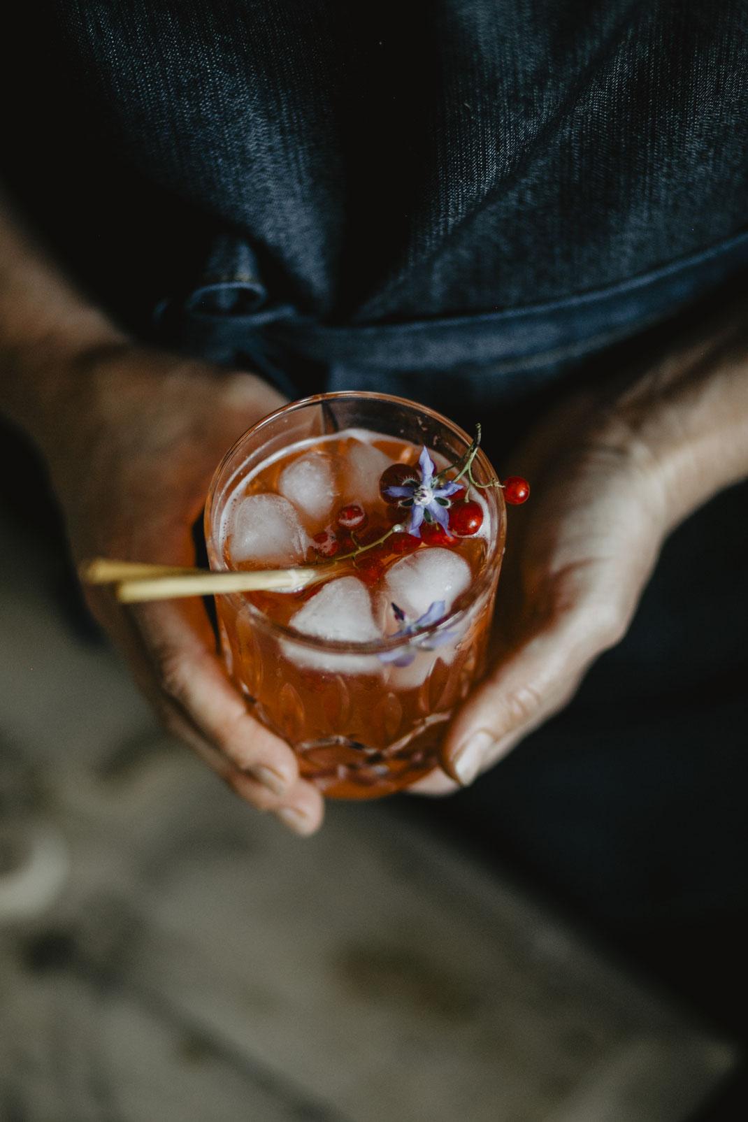 Johannisbeer Shrub - Cheers aus der Farmmade Küche