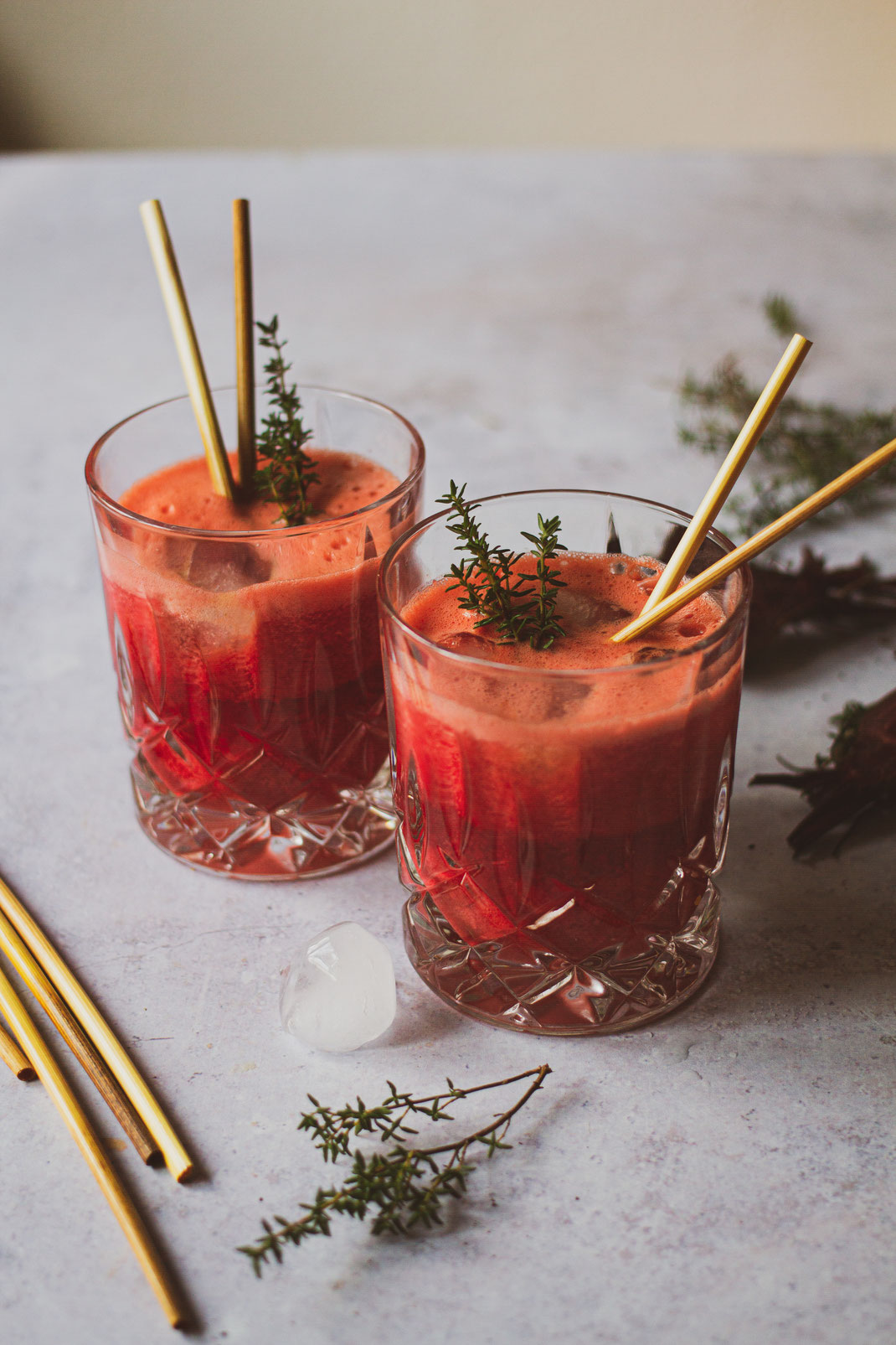 Botanical Drinks - Rote Beete Cocktail