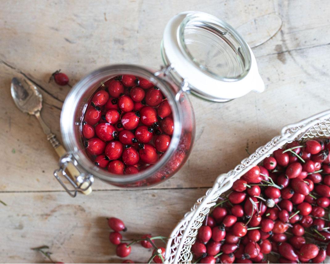 Fertiges Tomatensugo in Gläsern