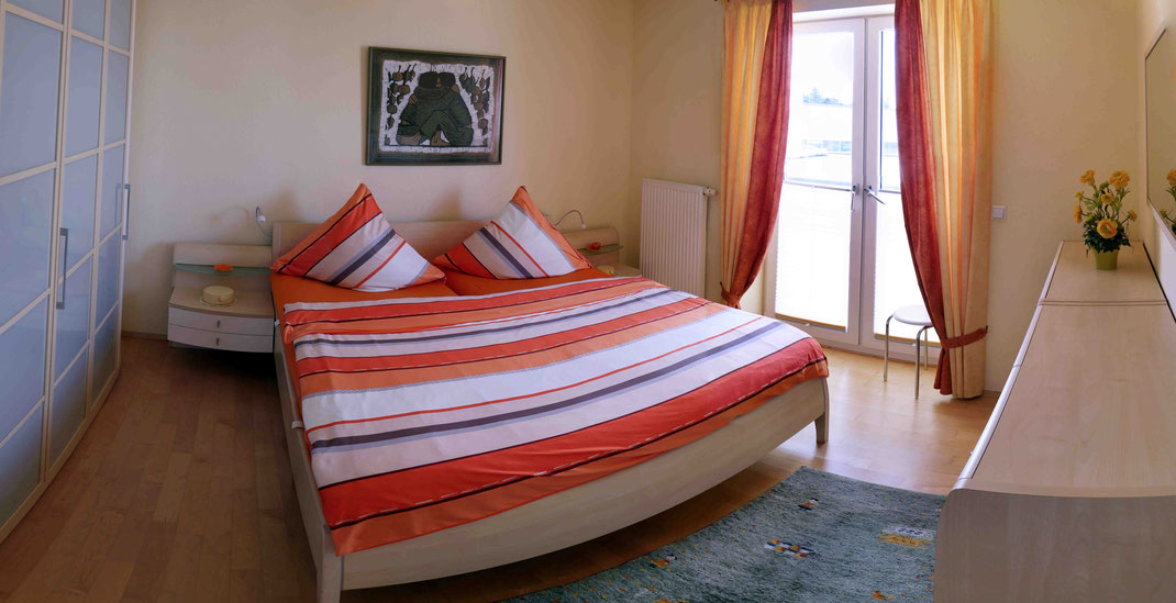 Schlafzimmer Strandpalais Duhnen Ferienwohnung Nr. 13