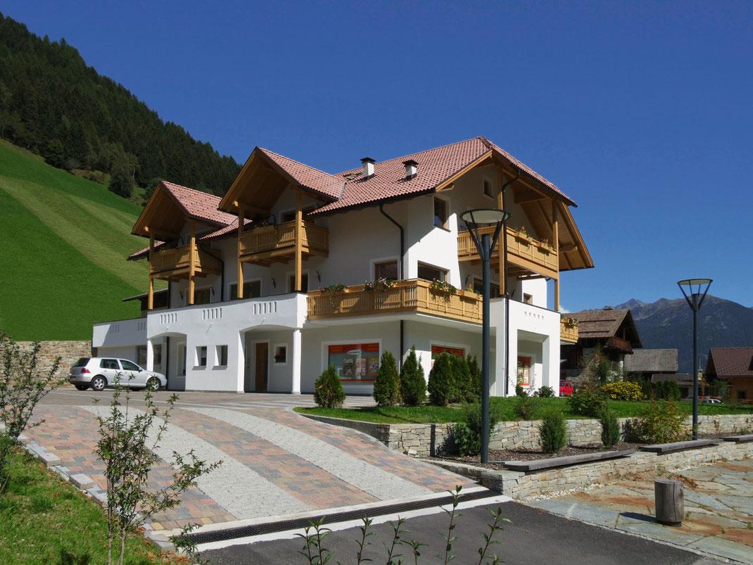Appartements Großgasteiger im Sommer im Tauferer Ahrntal in Südtirol