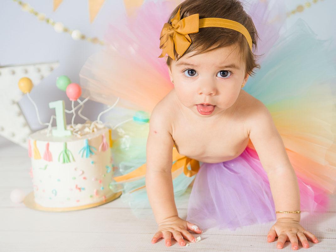 smash cake fotos