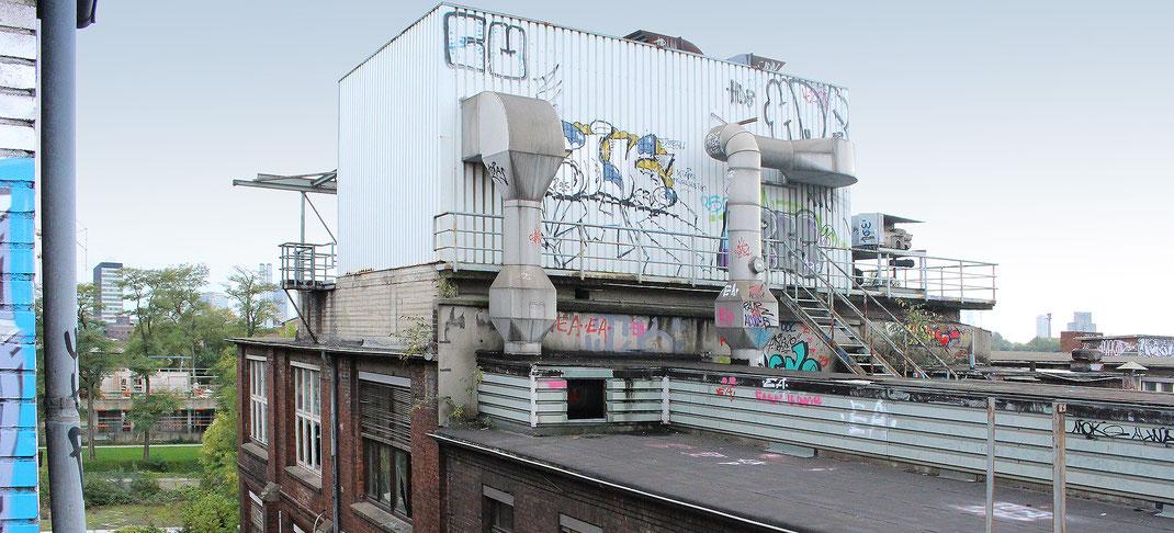Otto-Langen-Quartier mit angrenzendem Cologneo I. Foto: Eva Rusch