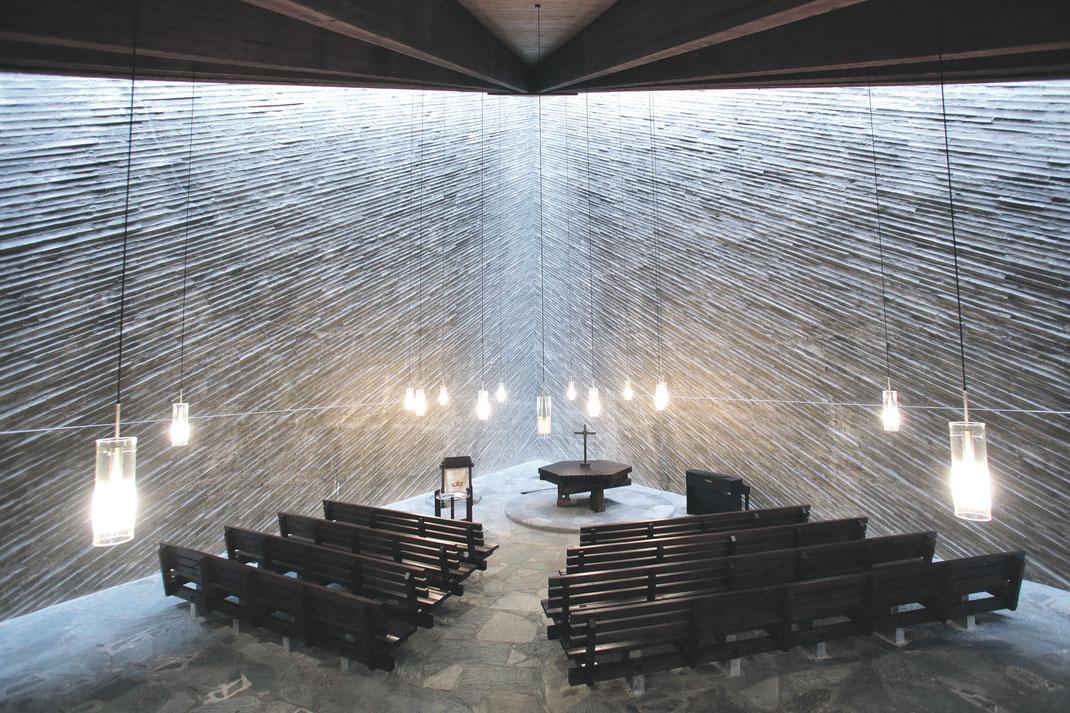 Der zentrale Raum der Kulturkirche-Ost in Köln-Buchforst. Foto: GAG Immobilien AG