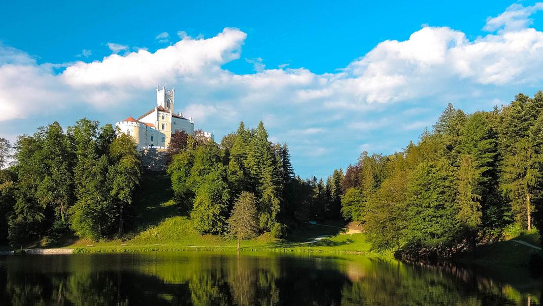 Trakošćan Castle, Bednja, Croatia