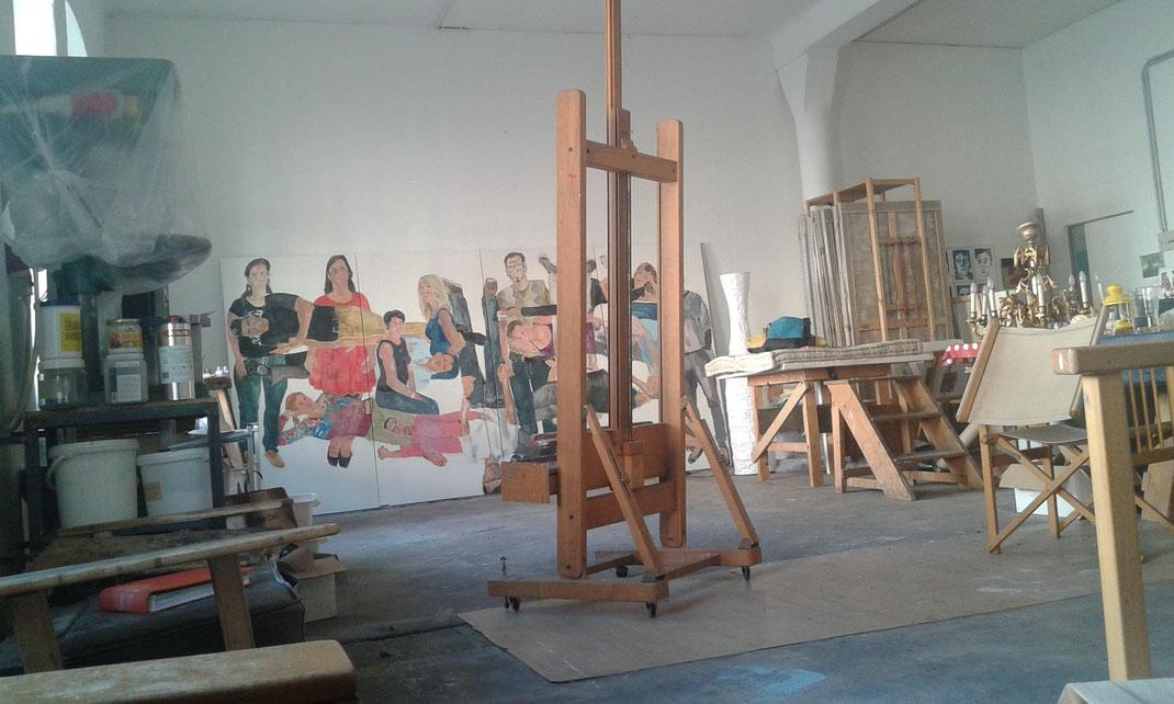Atelier Eva Hradil, Foto Sommer 2014