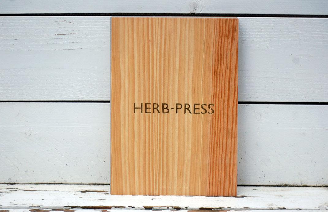 herb press
