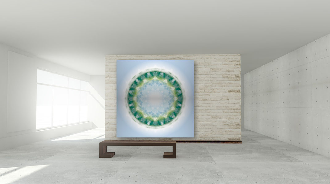 Lebendiger Kristall in einem öffentlichen Raum © Susanne Barth. Freie Arbeit. Foto: pixabay