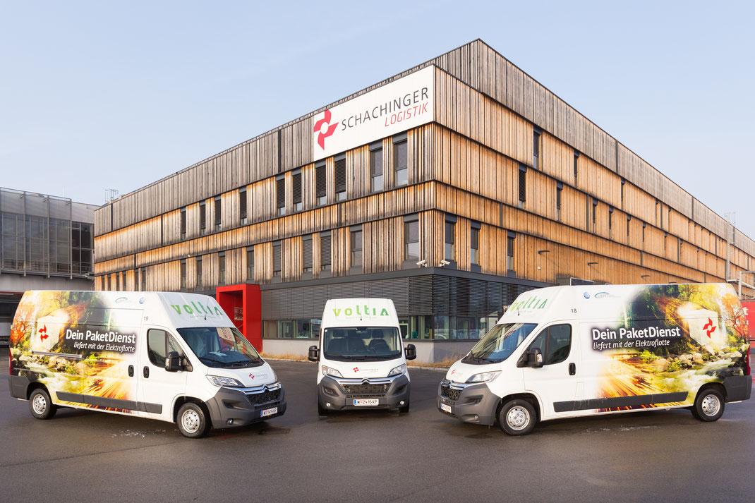 Die ersten eVans sind seit Februar 2017 im Einsatz | © Martin Rumersdorfer/Schachinger Logistik GmbH, 2017